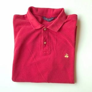 Brooks Brothers Red Sport Pique Polo size L